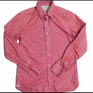 AMERICAN EAGLE Men's Long Sleeve Button Up (Small)